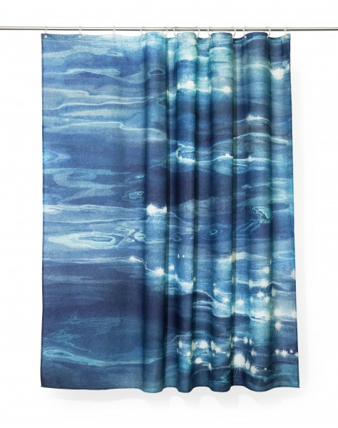 EIBA . REFLCETION . shower curtain