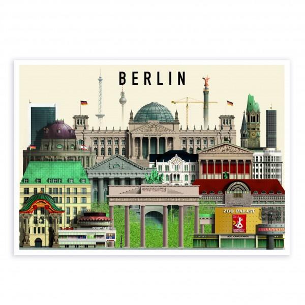 Karte A6 . MARTIN SCHWARTZ . Berlin