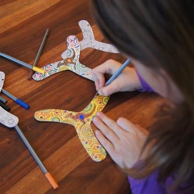 Boomerang . myFIBO . 4er Set