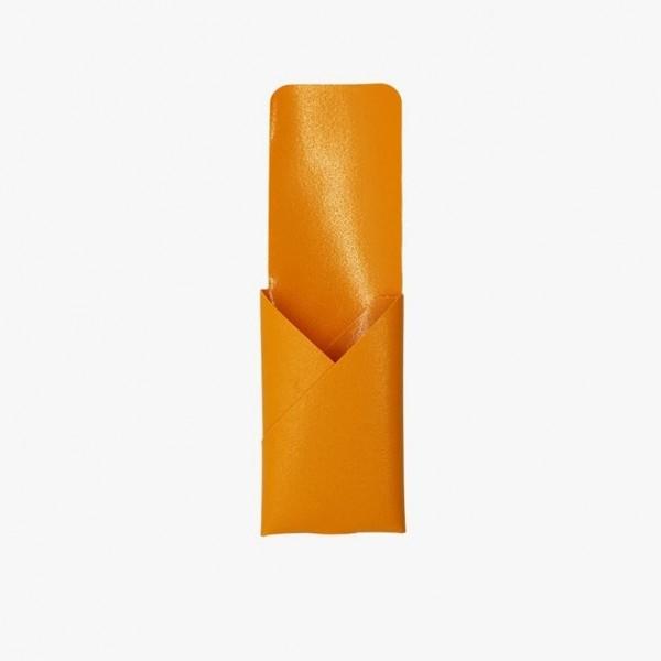 Kartenetui . KATAMAKU . orange