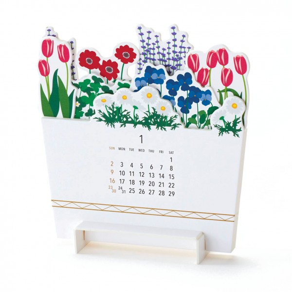 Kalender 22 . GOODMORNING . Bloom