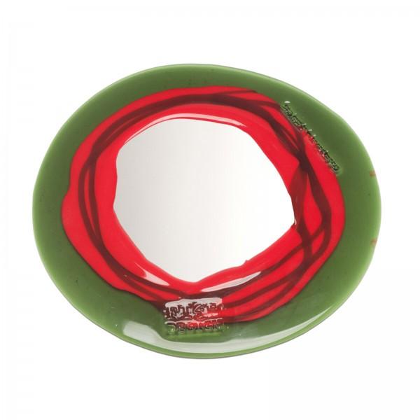Mirror . CORSI . Fish Design . red green