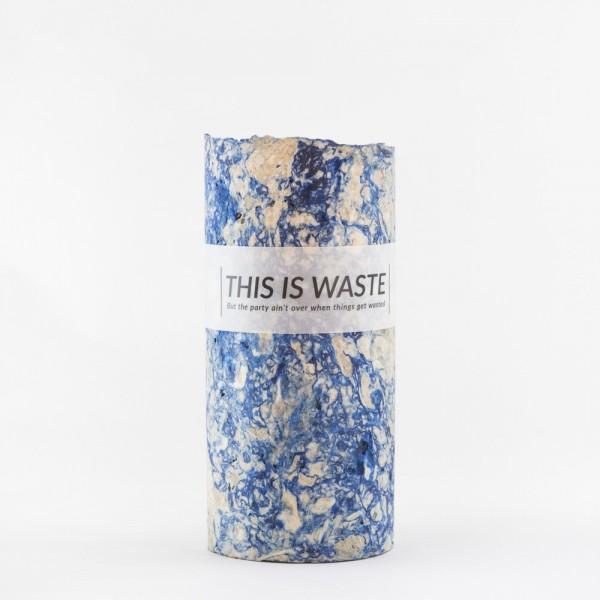 MEDIUM BLUE . STUDIO FLASH . Vase