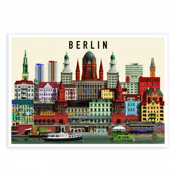 Karte A5 II . MARTIN SCHWARTZ . Berlin