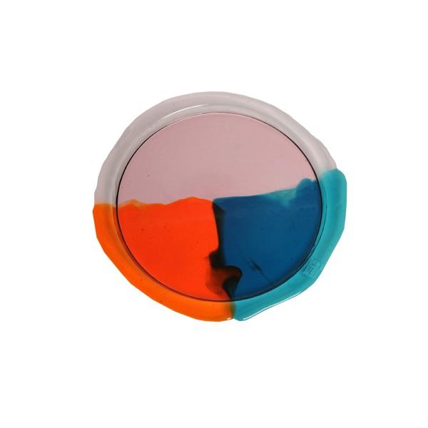 Tablett . CORSI . Fish Design . rund