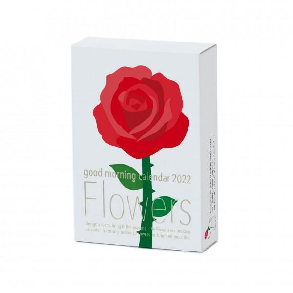 Kalender 22 . GOODMORNING . Flowers