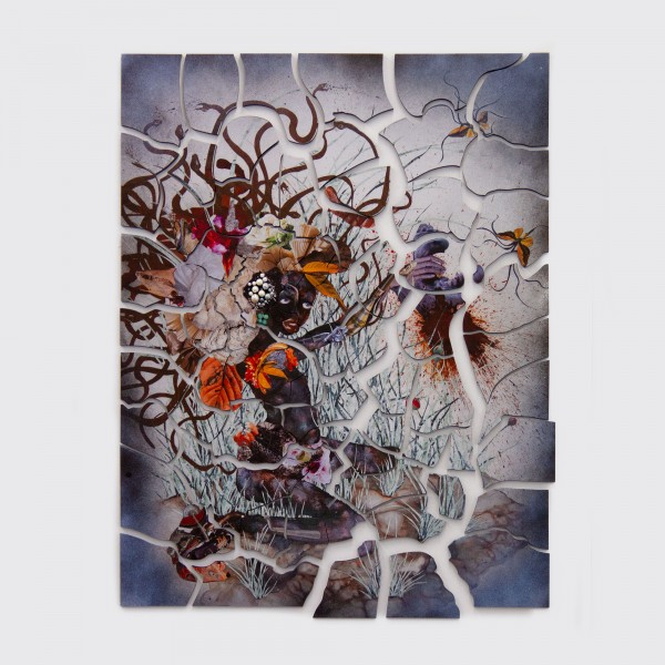 The Bride Who Married a Camel's Head, 2010 . Wangechi Mutu