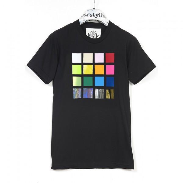 T-Shirt . RICHTER . black . unisex